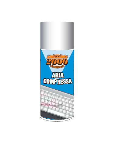 Spray Aria Compressa 400 millilitri